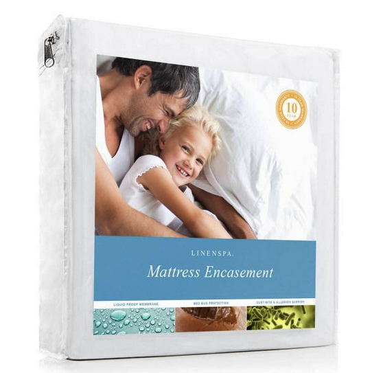 LinenSpa Encasement Mattress Protector