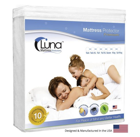 Luna Waterproof Mattress Protector