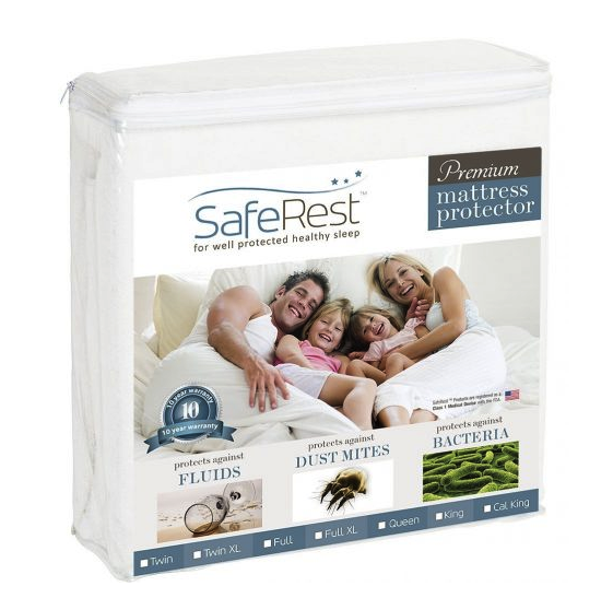 SafeRest Hypoallergenic Mattress Protector