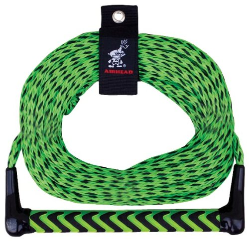 Kwik Tek Airhead  AHSR-9 Watersports 75 Foot One Section Rope for Water Ski, Wakeboard and Knee Boarding