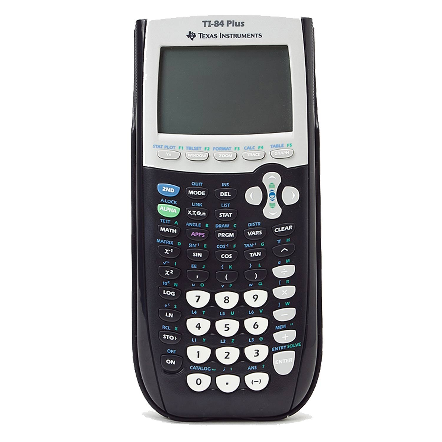 Texas Instruments TI-84 Plus Graphics Calculator, Built-In Apps and USB Technology, Large LCD Display
