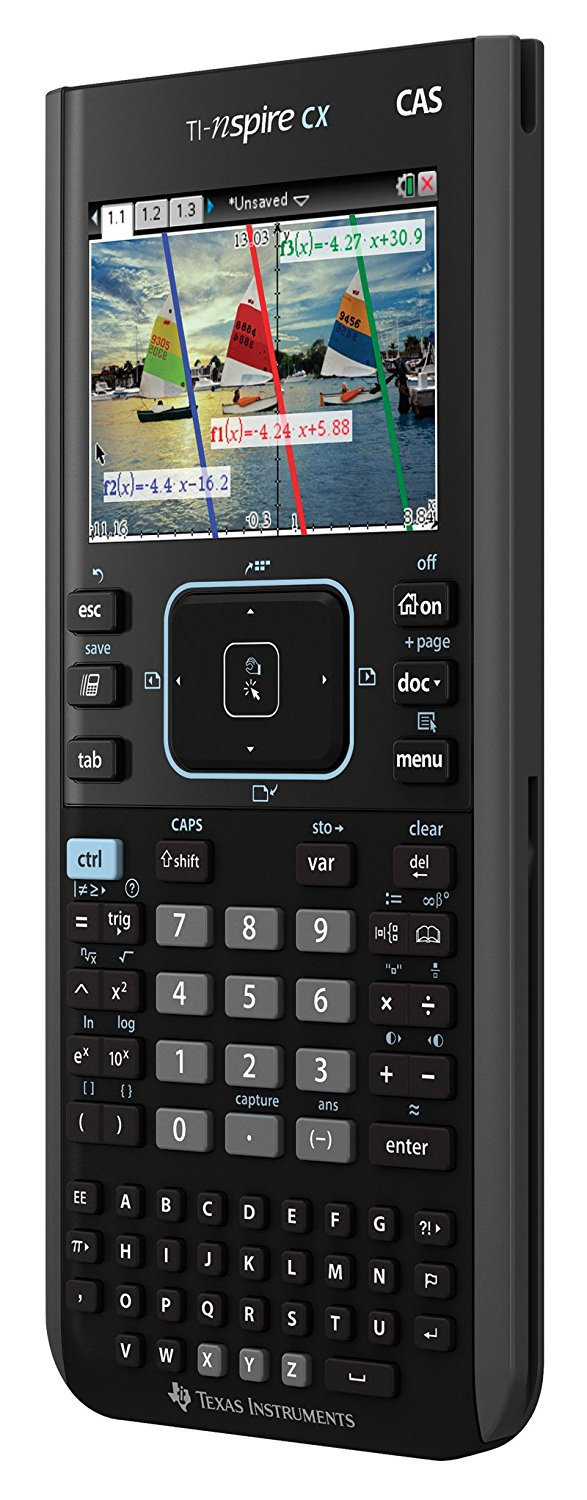 Texas Instruments TI-Nspire™ CX CAS Handheld Graphing Calculator