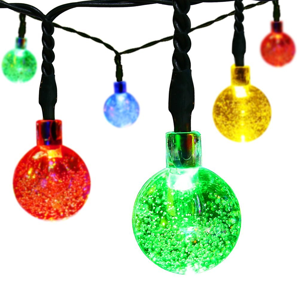 Easy Decor Solar Outdoor String Lights
