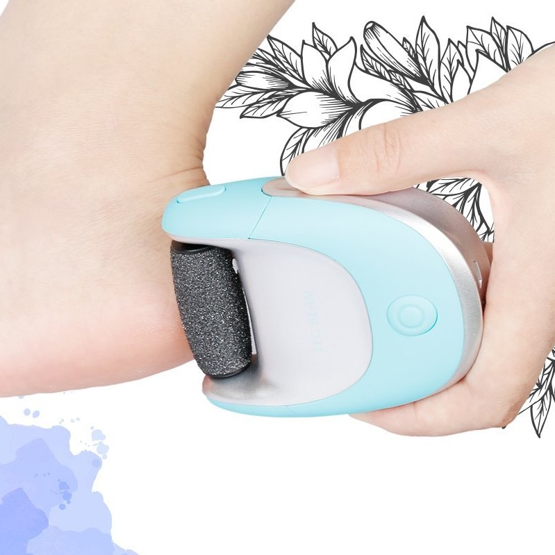 TEC.BEAN 2-in-1 Electric Foot File Callus Remover