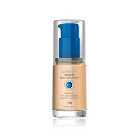 COVERGIRL Outlast 3-in-1 Liquid Foundation