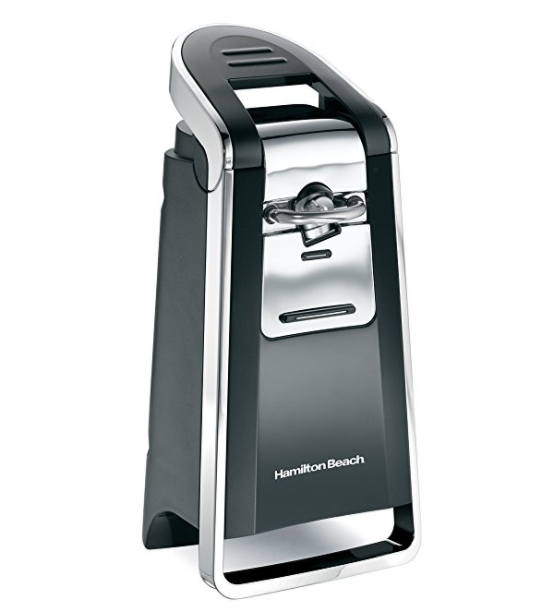 Hamilton Beach Smooth Touch™ Can Opener - with Free Kitchen Scissors