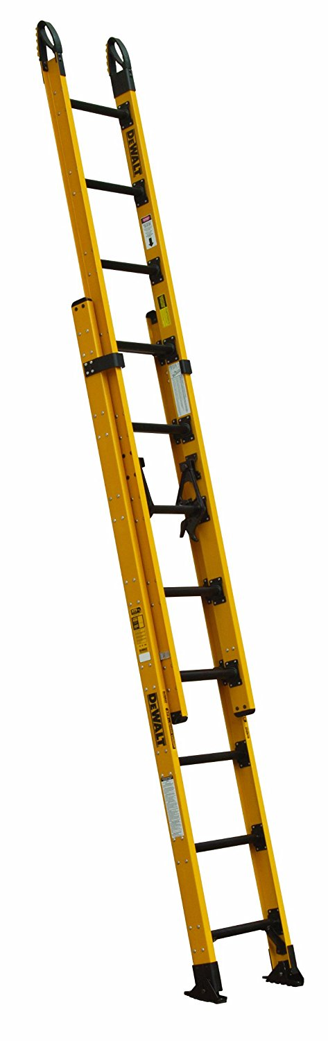 DeWalt Fiberglass Extension Ladder