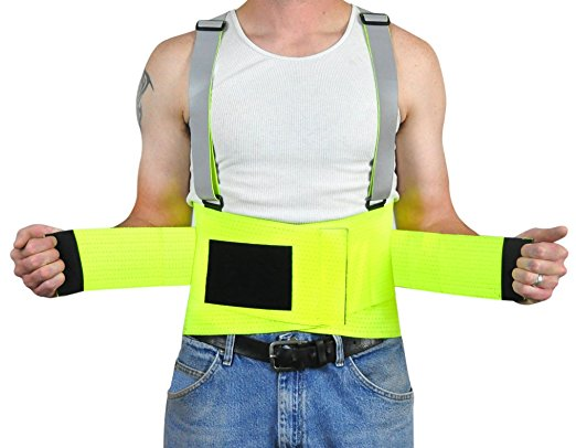 Trademark Supplies High Vis Back Brace