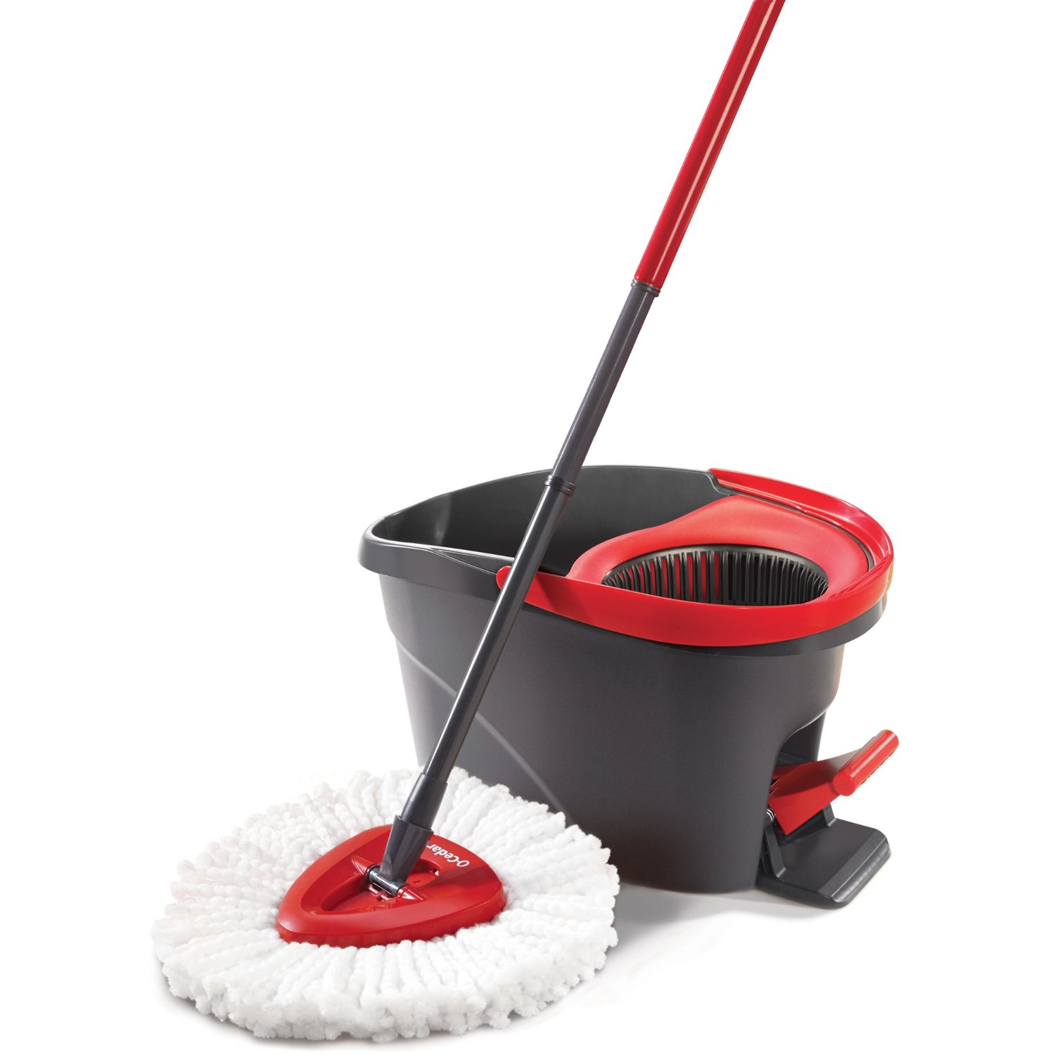 Twist and shout mop review - O Cedar Easywring Spin Mop Bucket System