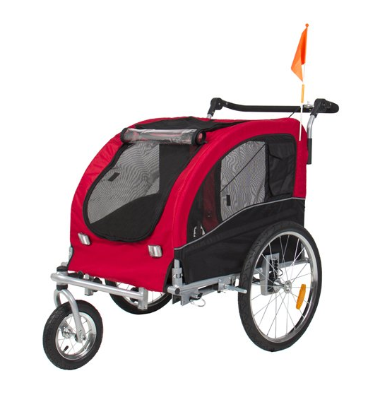 BCP 2 in 1 Pet Dog Bike Stroller