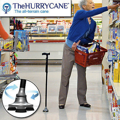 HurryCane All-Terrain Cane