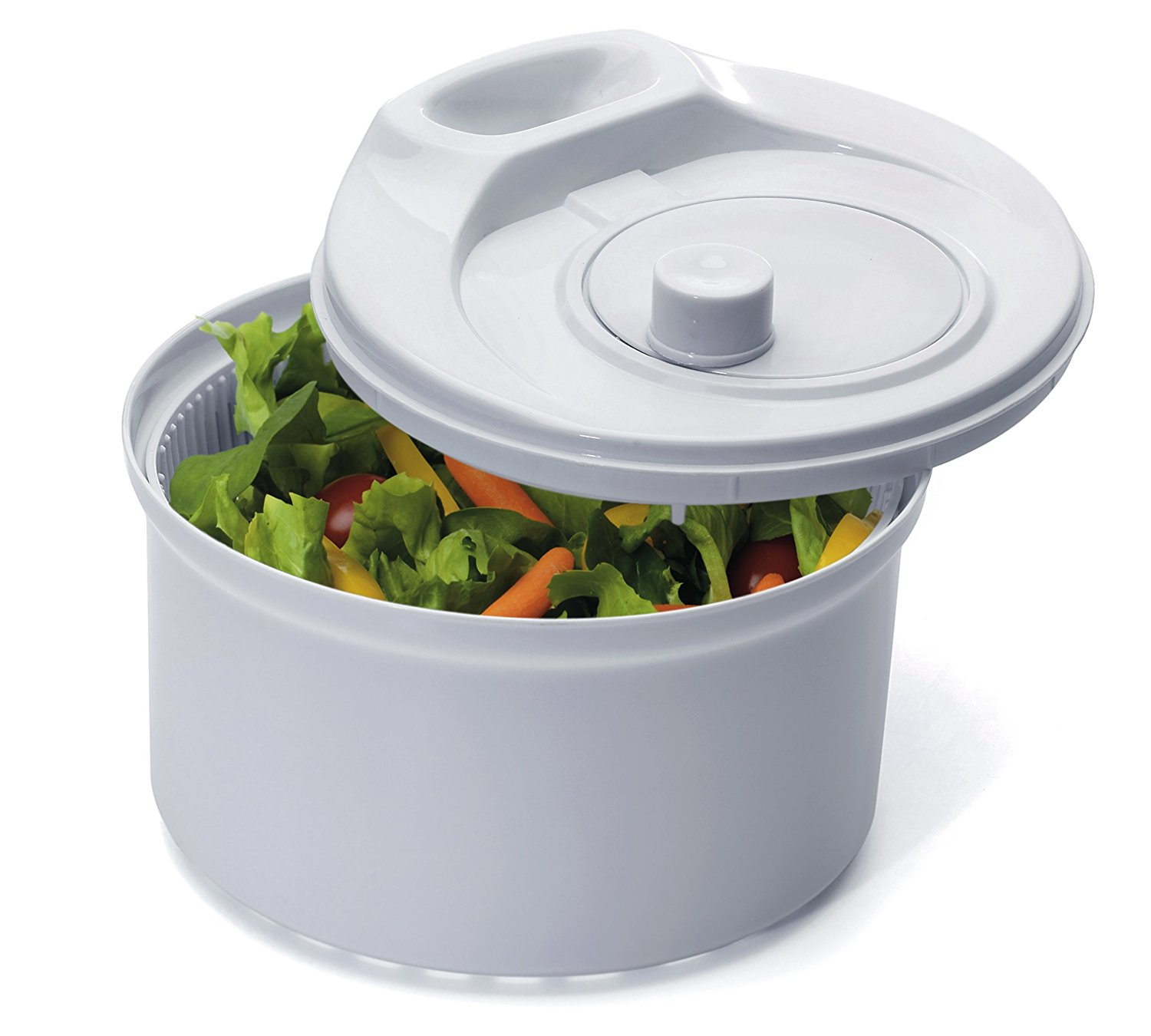 Progressive Prepworks Flow Through Salad Spinner