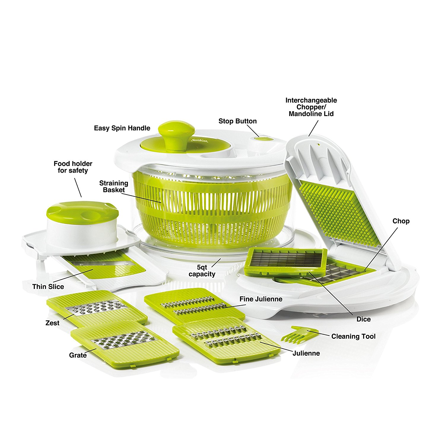 Savant Kitchen Salad Maker & Mandolin Set
