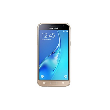 Samsung Galaxy Unlocked J3 DUOS GSM 8GB Affordable Smart Phone-Gold