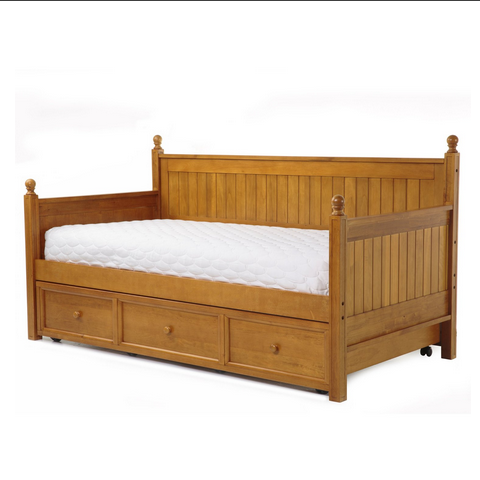 fashion bed group casey daybed trundle bed - Wooden Trundle Bed Frame
