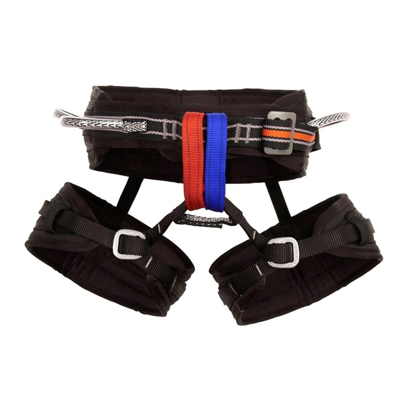 Metolius Safe Tech Waldo Harness - Comfortable and Safe for Big Wall Climbing - Available in 3 Sizes