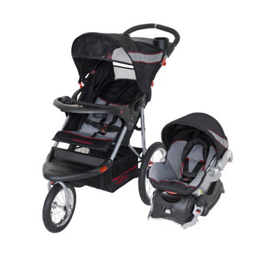 Baby Trend Expedition XL Travel System Convertible Stroller-Millennium