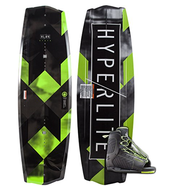 Hyperlite 2018 State 2.0 Wakeboard with Remix Bindings