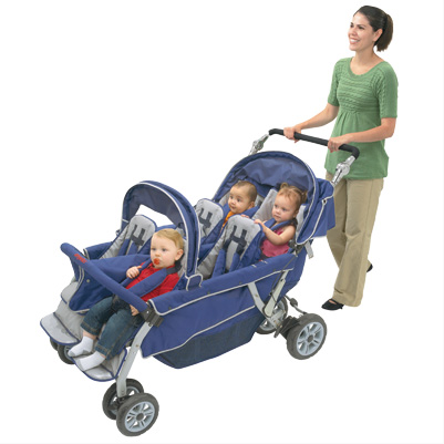 Angeles SureStop Bye-Bye Double Stroller