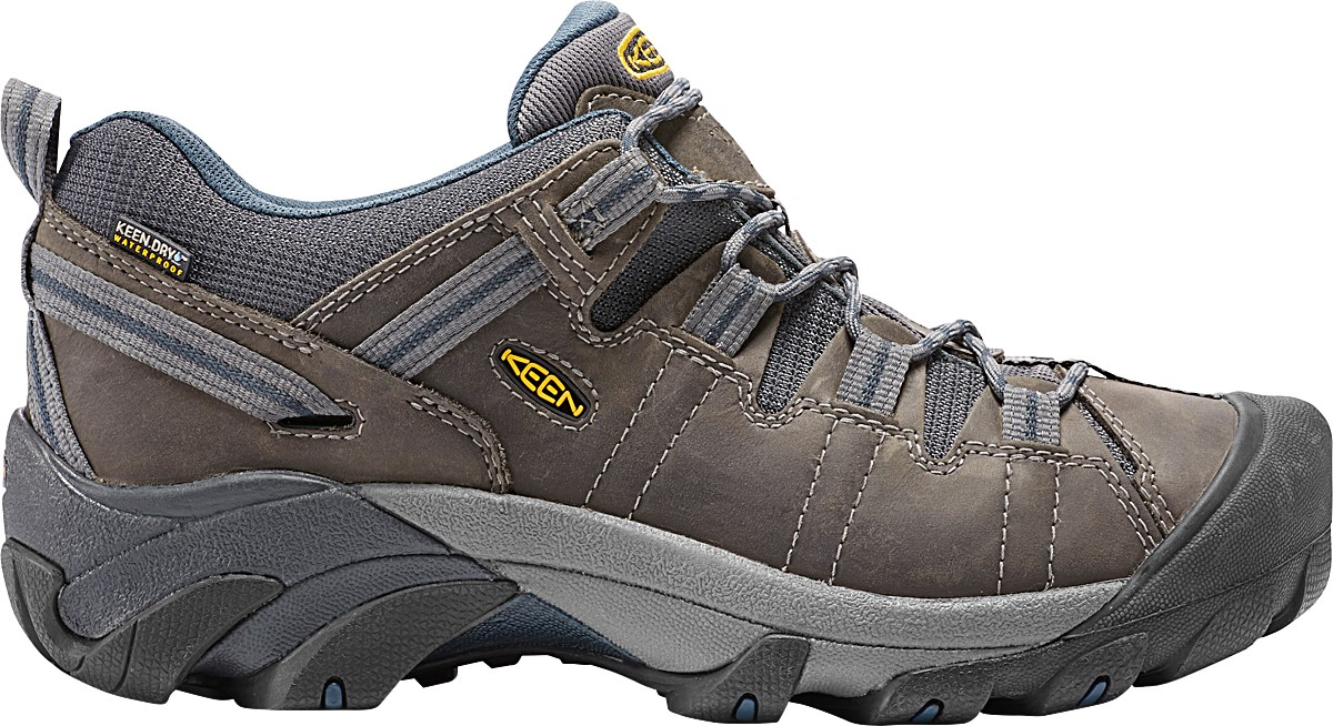 KEEN Men's Targhee II Mid WP Hiking Boot With Contoured Heel Lock Feature And Dual Density Footbed – Different Sizes; Five Color Options