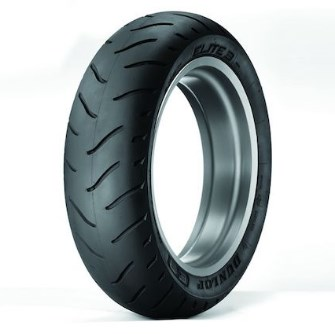 Dunlop Elite 3 Motorcycle Rear Tire