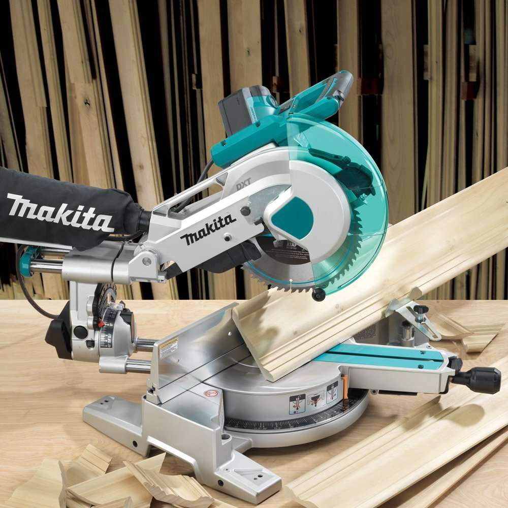 "Makita 10"" Dual Slide Compound Miter Saw"