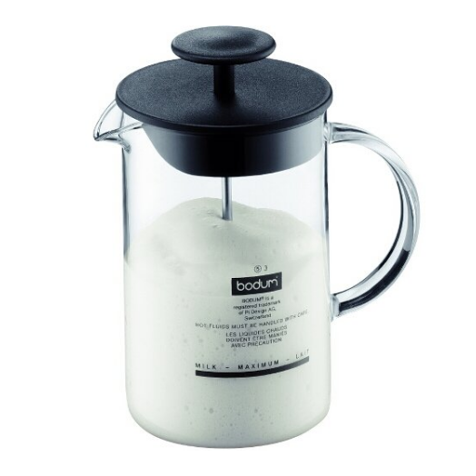 Bodum Latteo Manual Glass Milk Frother
