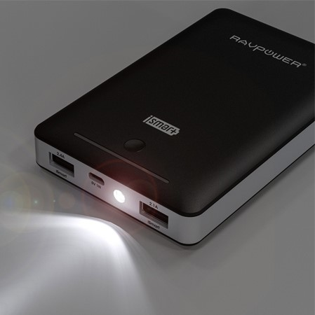 RAVPower Deluxe Dual USB Portable Charger
