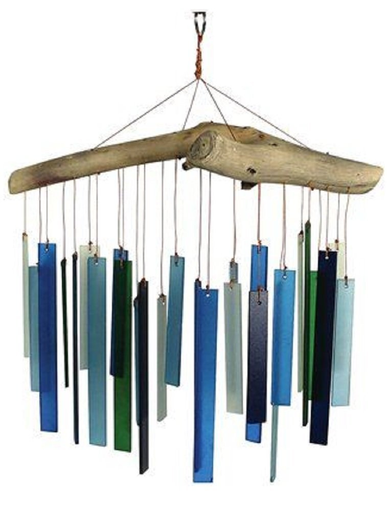 Blue Handworks Driftwood Wind Chime