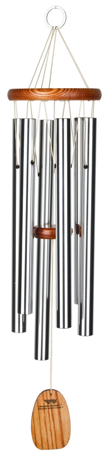 Woodstock Chimes Inspirational Amazing Grace Chime – Available in 5 Sizes