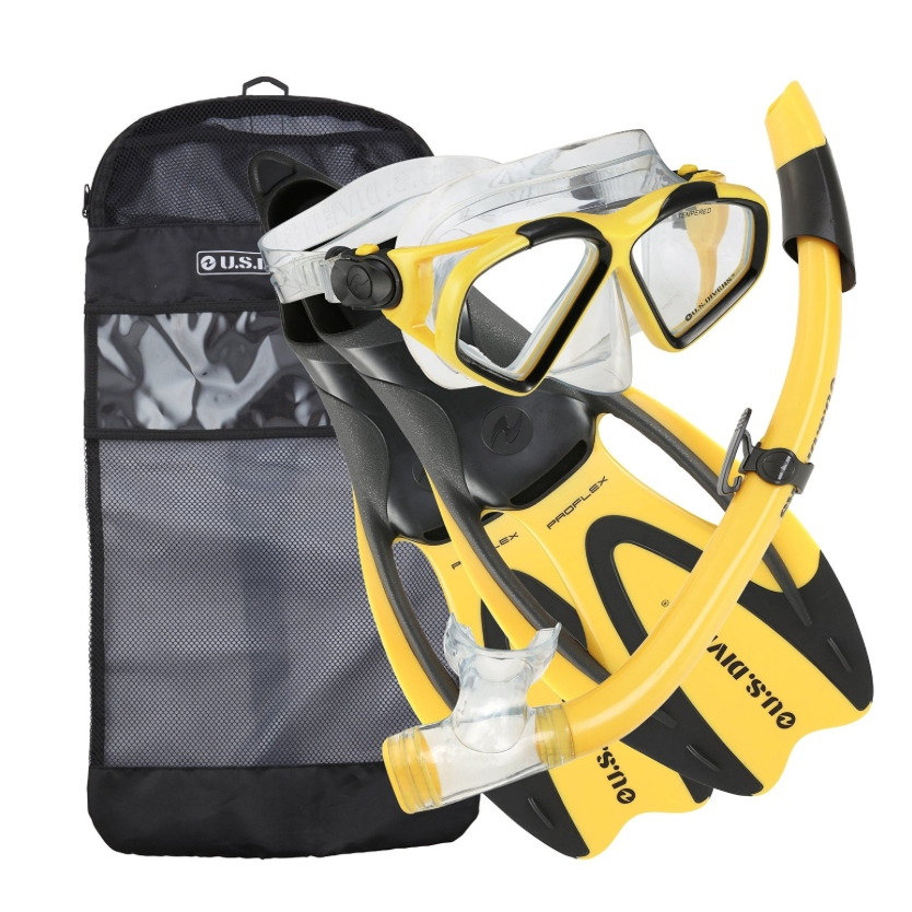 US Divers Snorkel Kit