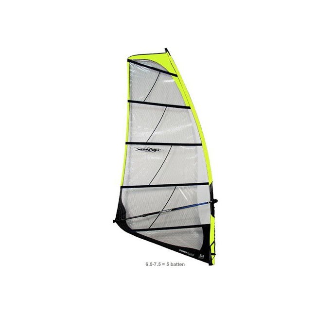Chinook Power Glide 7.5 Windsurf Sail  - Available in Multiple Sizes