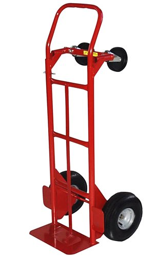 Milwaukee Hand 49180 Convertible Hand Truck With 10-Inch Pneumatic Tires