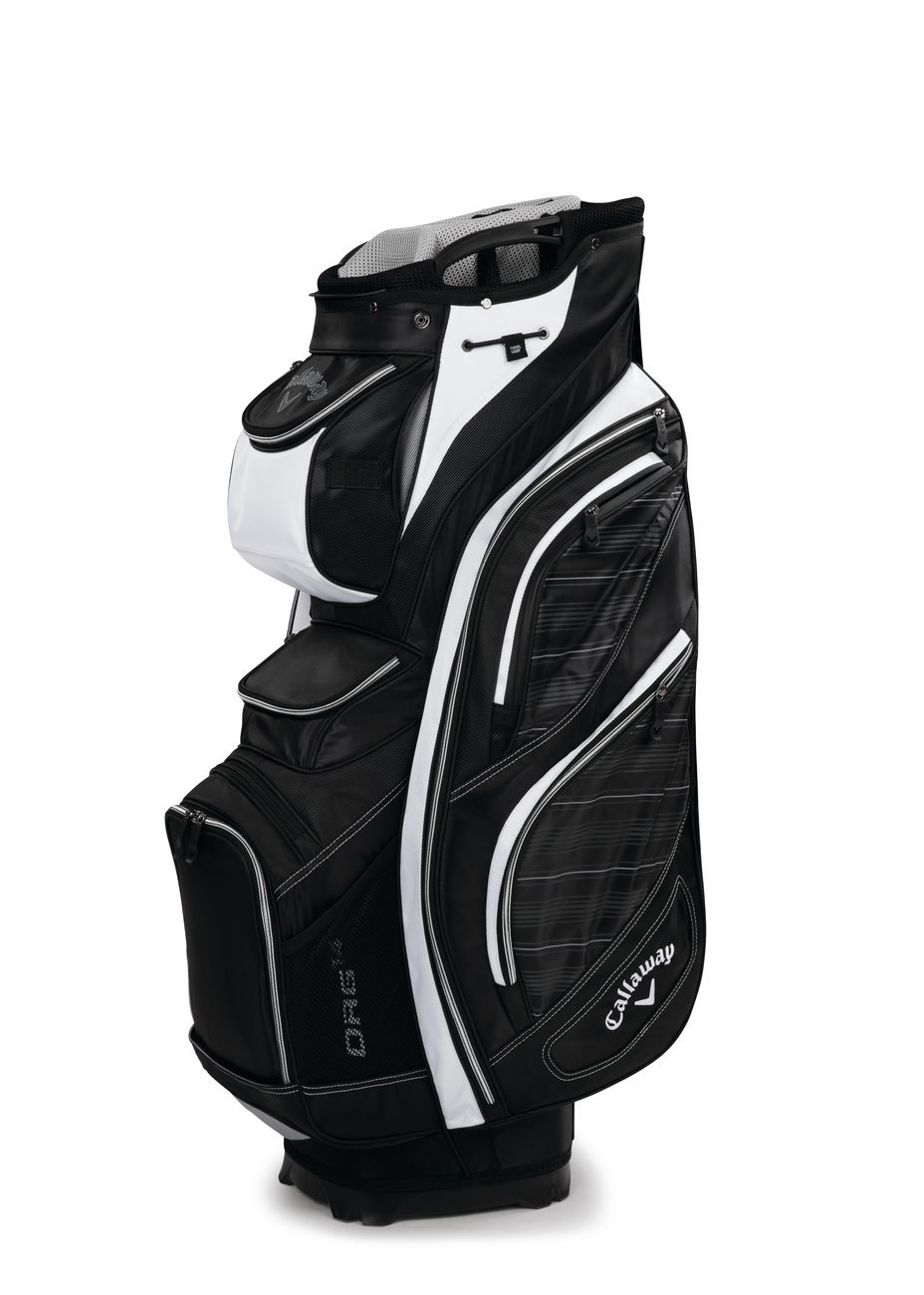 Callaway 2016 Org 14 Golf Cart Bag with 14 Full Length Club Dividers, 12 Pockets, 1 Water Resistant Pocket