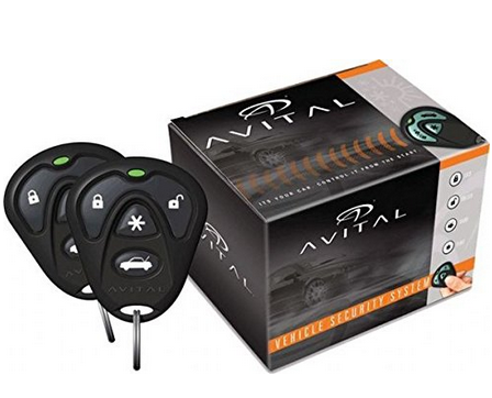 Avital 4103LX Remote Start System with Two 4-Button Remote  – Available in 5 Styles, D2D Compatible, Keyless Entry, Panic Mode, 4-Button Remotes