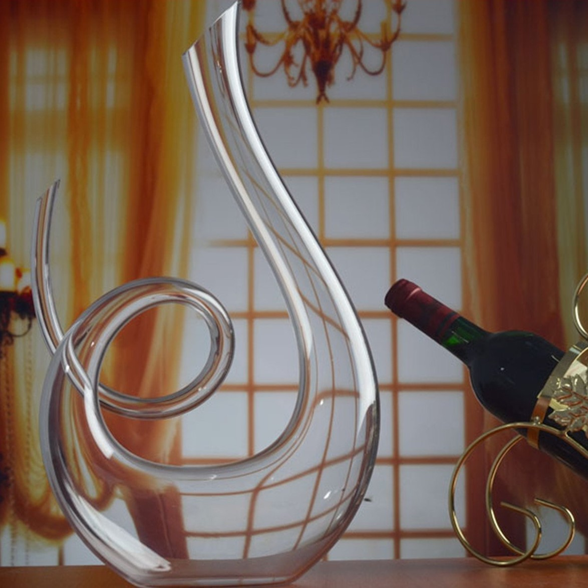 Hanzeek Music Notation Wine Decanter