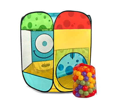 Toydaloo Smiley Ball Pit with Carry Bag