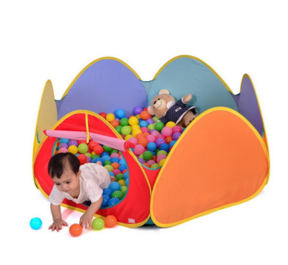 Truedays Pop Up Play Tent With Ball Pit
