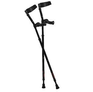 Millennial Medical In-Motion Forearm Crutches