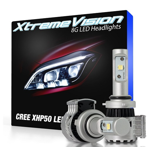 XtremeVision 8G Dual Beam LED Headlights