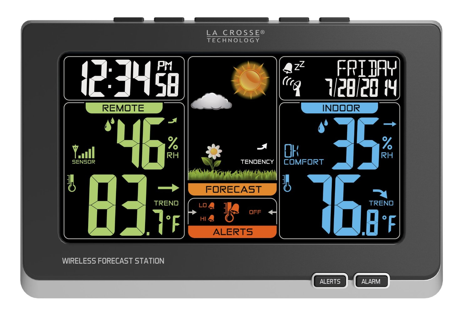 La Crosse Technology Wireless Color Weather Station