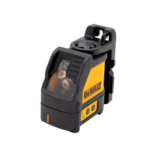 DEWALT DW088K Self-Leveling Cross Line Laser with Laser Tripod and Laser Enhancement Glasses