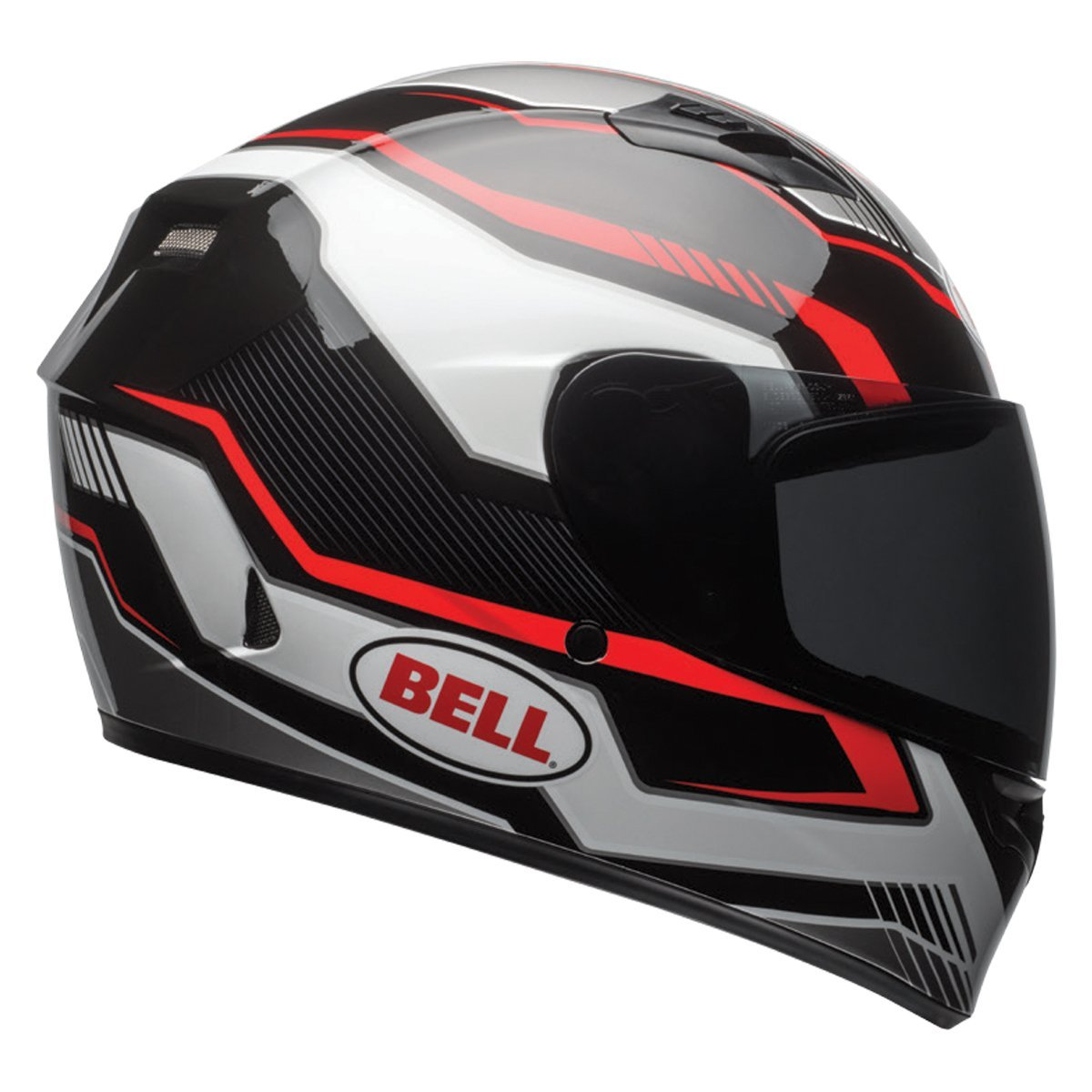 Bell Qualifier Unisex-Adult Full Face Street Helmet with Anti-Fog, Anti-Scratch & UV Protected Sheild Available in 16 Colors and 7 Sizes