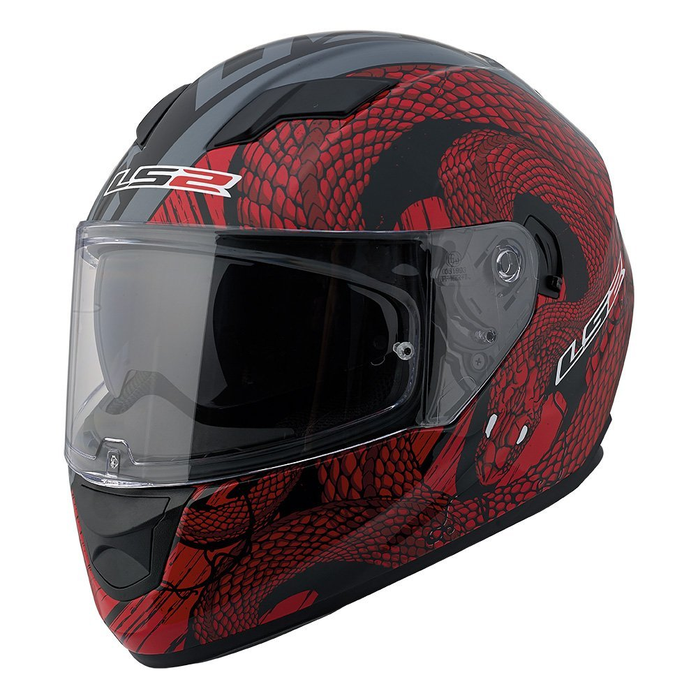 LS2 Full Face Motorcycle Helmet