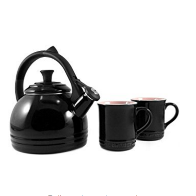 Le Creuset Enamel on Steel Stove Top Kettle and Mug Gift Set – Available in 9 Colors