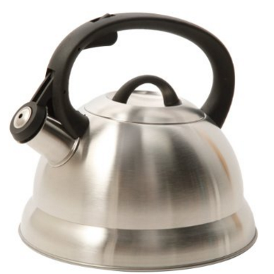 Mr. Coffee Stainless Steel Whistling Tea Kettle