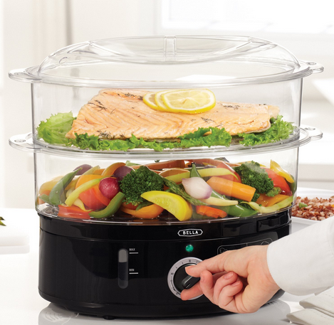 Bella 7.4 Quart Food Steamer