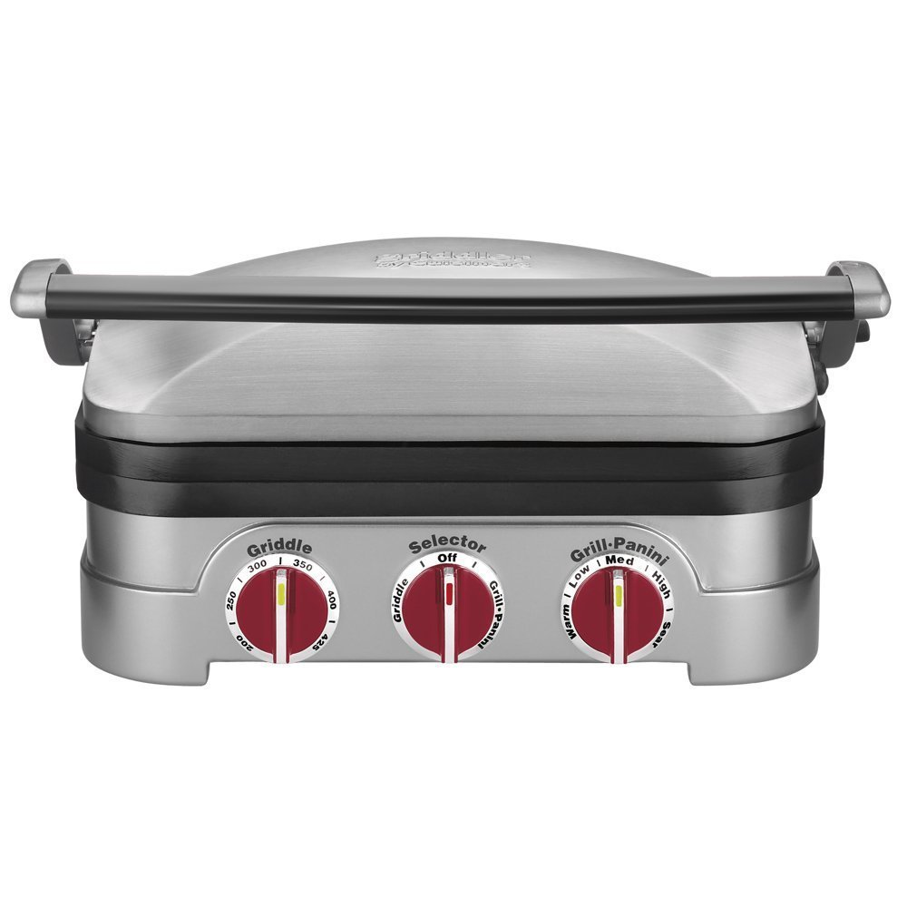 Cuisinart GR-4N 5-in-1 Griddler -- Two Dial-Color Options