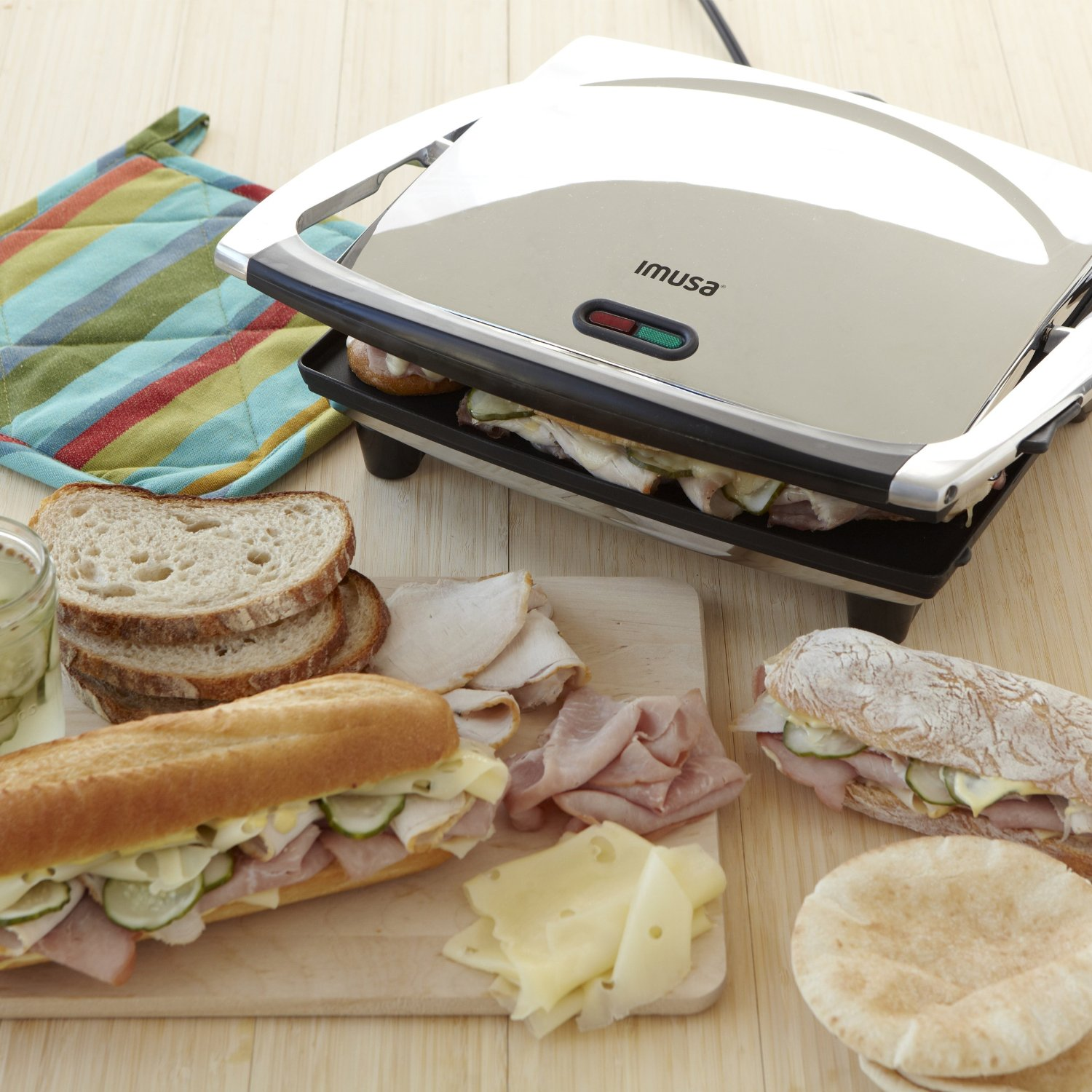 IMUSA Electric Panini and Sandwich Maker