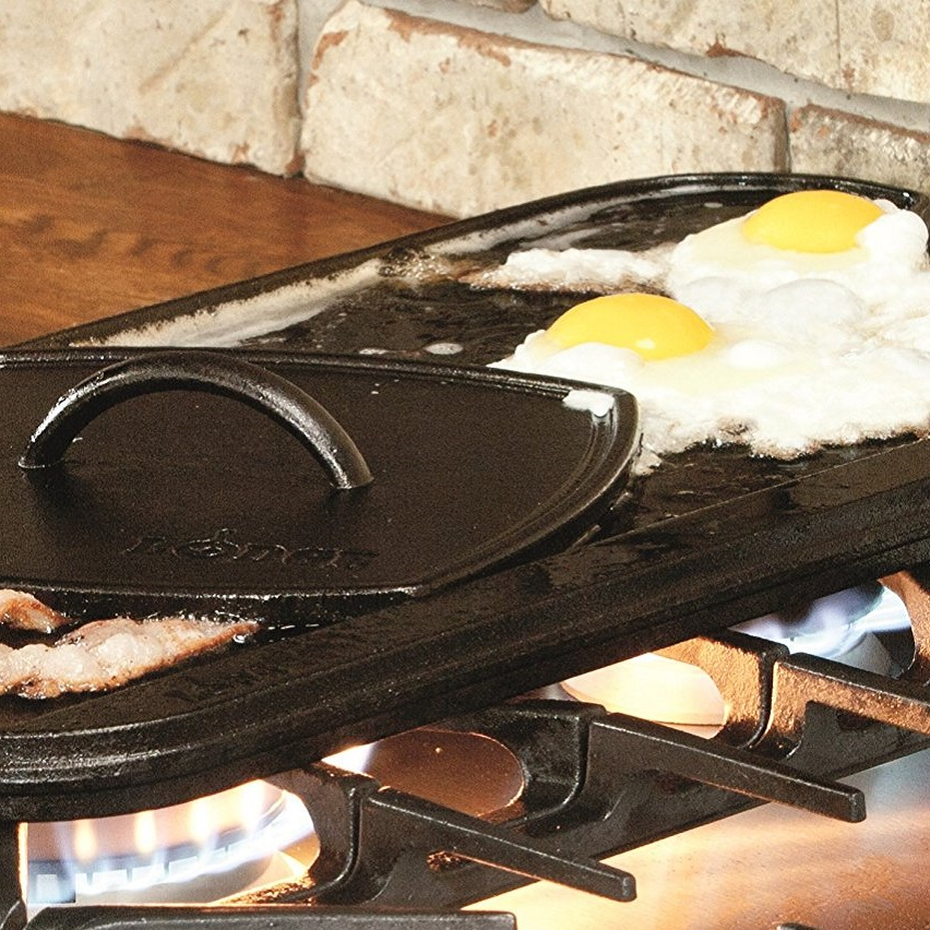 Lodge Pro-Grid Iron Reversible Grill/Griddle